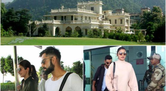 Anushka Shrama & Virat Kohli in Dehradun for New Year Holidays