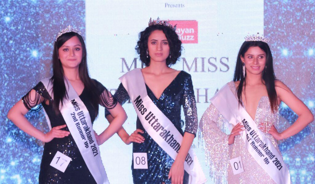Winner of Miss Uttarakhand 2021